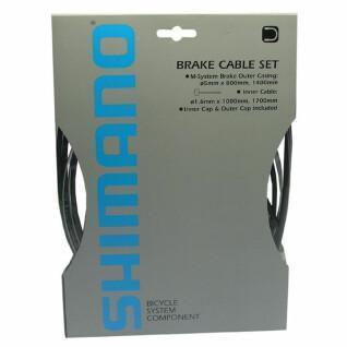 Kit câble et gaine de frein pour roue avant et arrière Shimano