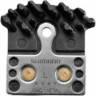 Plaquettes de frein à disque Shimano j0ac sintermetall ice-tech pour br-m985/785/675