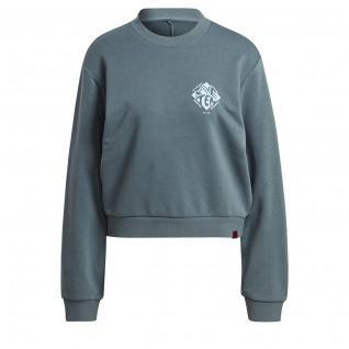 Sweatshirt court femme adidas 5.10 Women