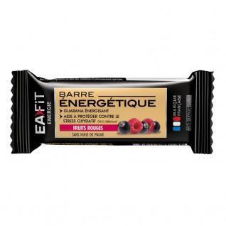 Barre énergétique fruits rouges EA Fit (24x30g)