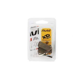 Plaquettes Sram Brake Pad Guide/Trl Stlorg 1 Set