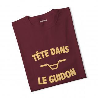 T-shirt femme Tête dans le guidon