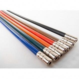 Câble de levier vitesse Velo Orange Metallic Braid